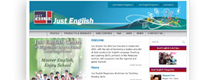 Just English website